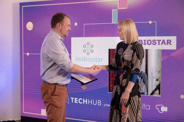 """""""Login"""" konferencijoje apdovanoti 5 geriausi """"TechHub"""" pre-akceleratoriaus startuoliai"""