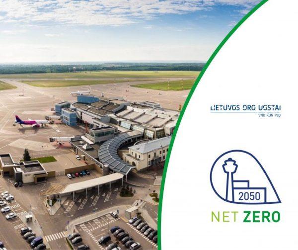Lietuvos oro uostai jungiasi prie tarptautinės iniciatyvos mažinti anglies dvideginio emisijas: tikslas – nulinės emisijos į aplinką