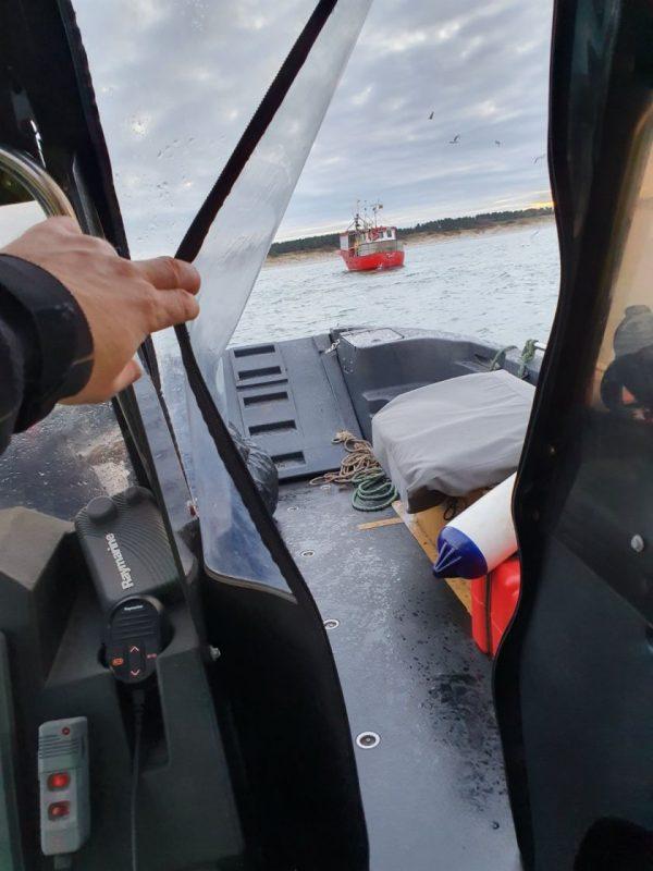 Siekiant tausoti žuvų išteklius, žvejyba Baltijos jūroje kontroliuojama visą parą